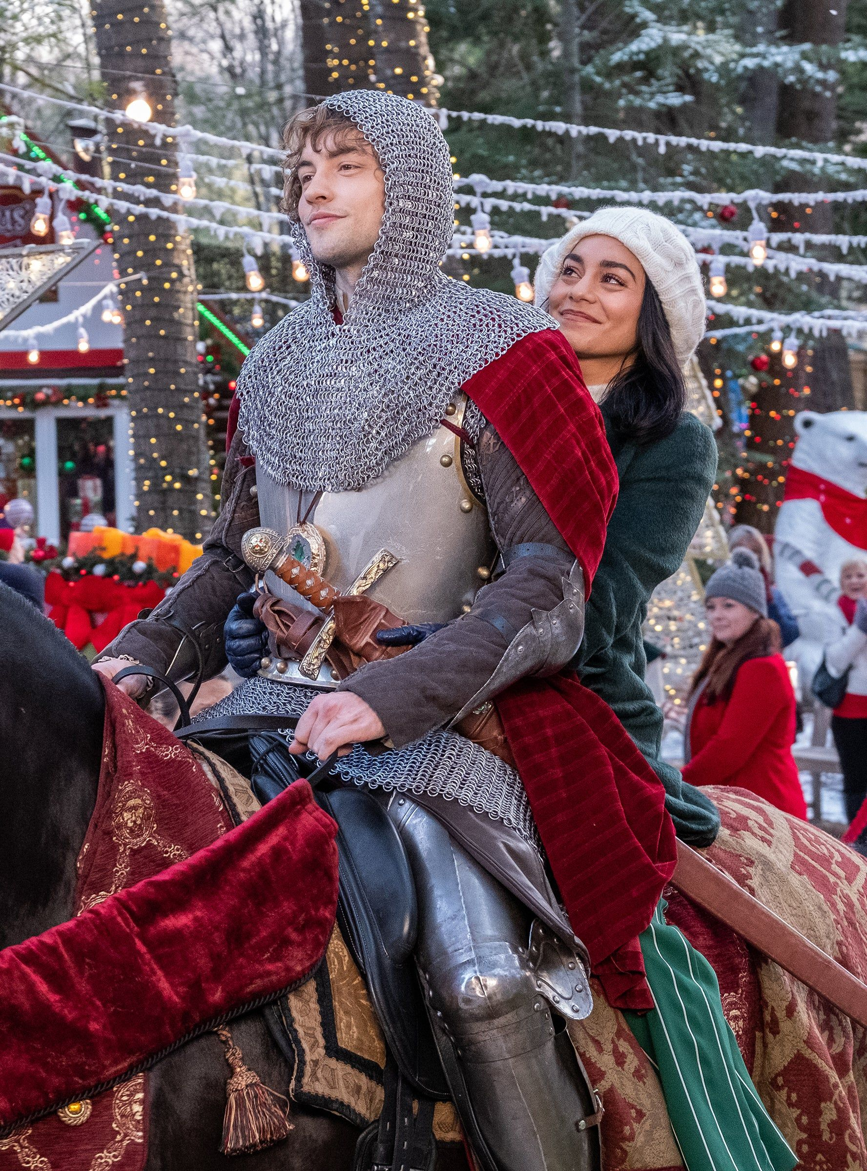 The Knight Before Christmas Was Filmed In A Real Life Holiday Wonderland Romantic Christmas Movies The Knight Before Christmas Netflix Christmas Movies