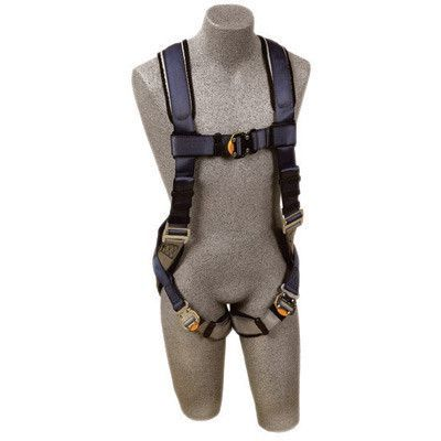 DBI/SALA Large ExoFit Full Body/Vest Style Harness With Back D-Ring, Quick Connect Chest And Leg Strap Buckle, Loops For Body Belt And Built-In Comfort Padding