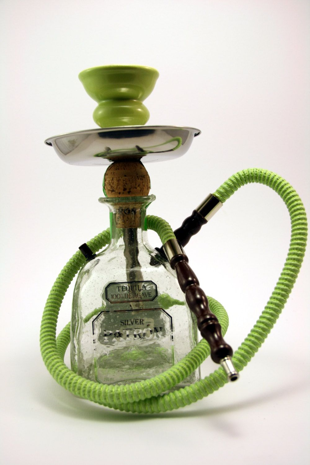 Patron Hookah What better way to recycle your bottle