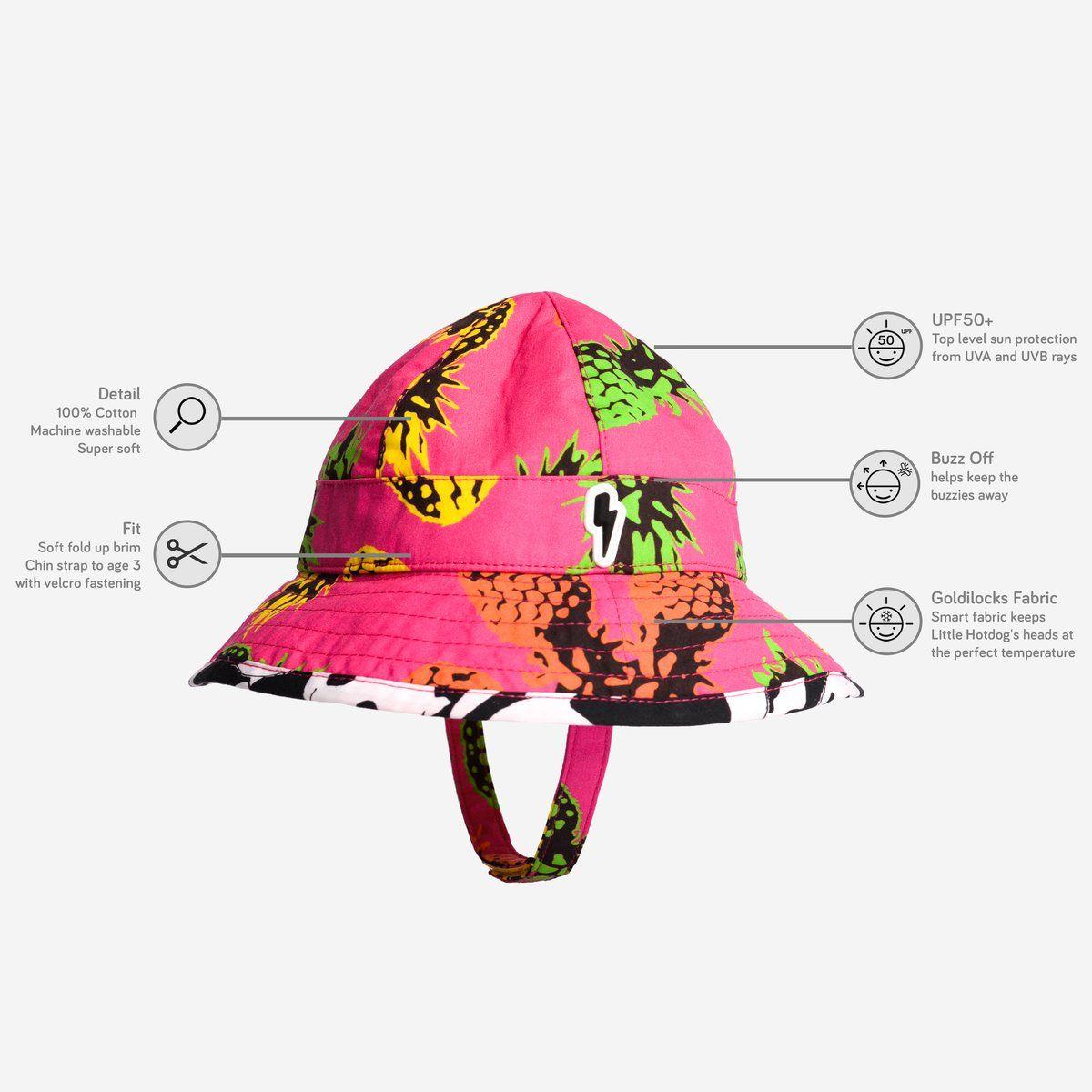 6df9cedd559 Little Hotdog Watson - The Pioneer Kids Floppy Sun Hat.  littlehotdogwatson   kidshat