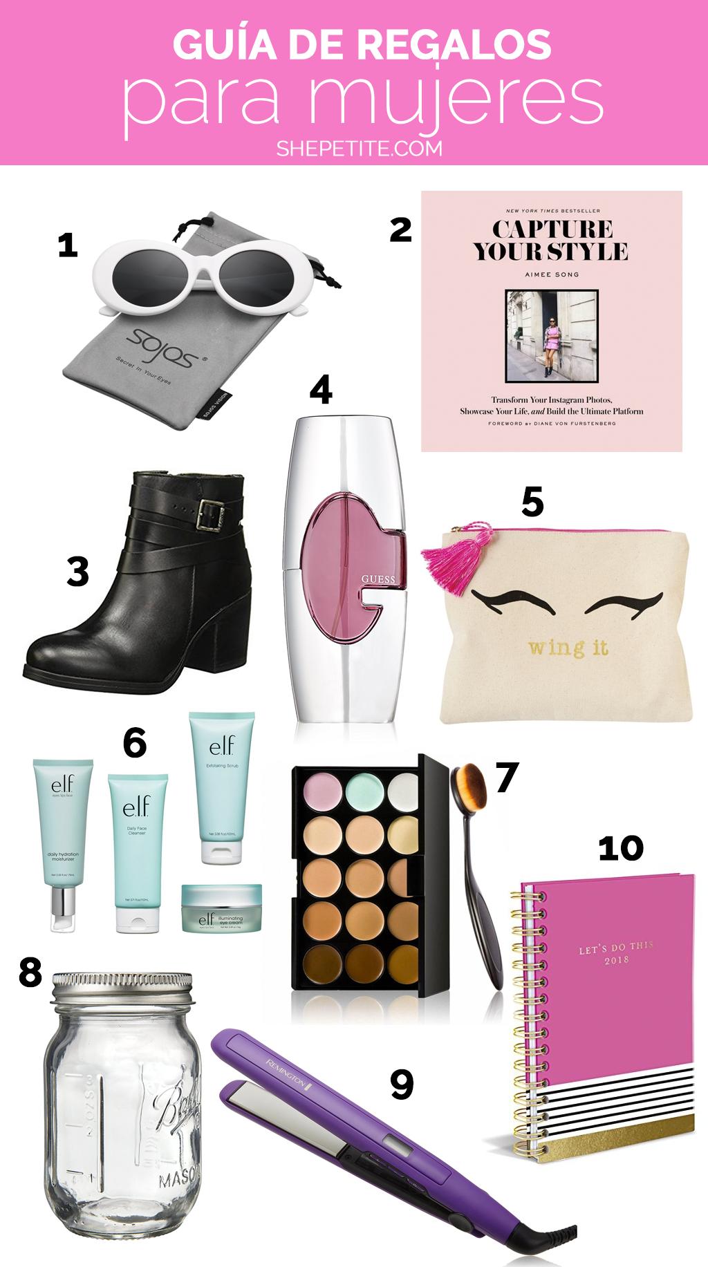 Guía De Regalos Para Mujeres Opciones Pinterest Regalos