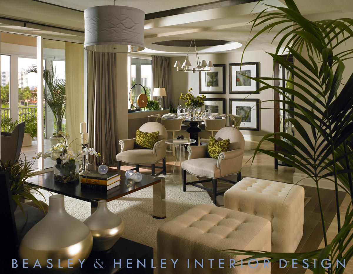 Mid century modern meets old Hollywood | Living room decor ...