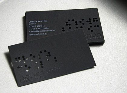 Want To Learn How To Create Amazing Business Cards Download For Free The Complete Gui Embossed Business Cards Examples Of Business Cards Business Card Design