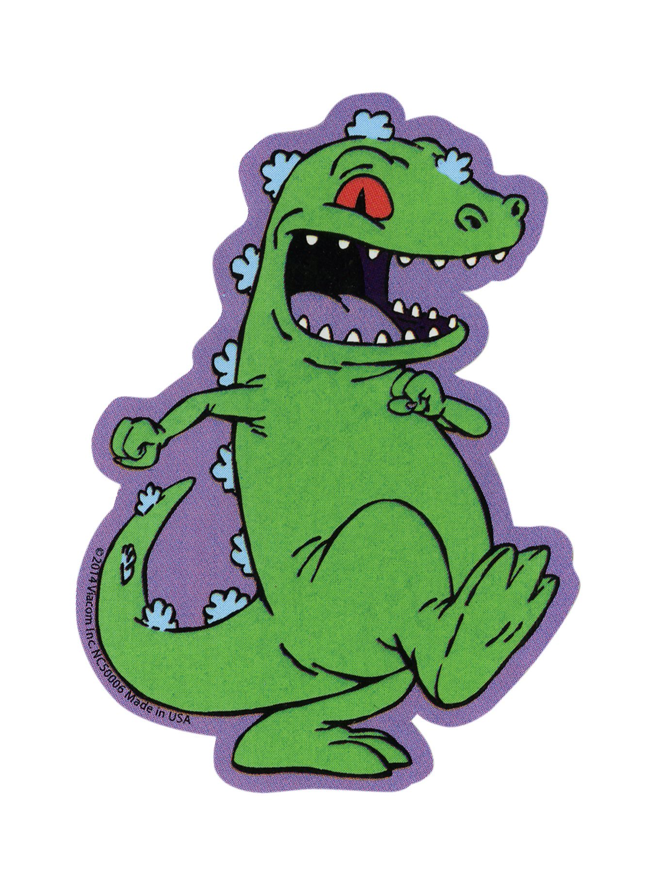 Reptar! I loved watching Rugrats as a kid. 90\'s Nick is amazing ...