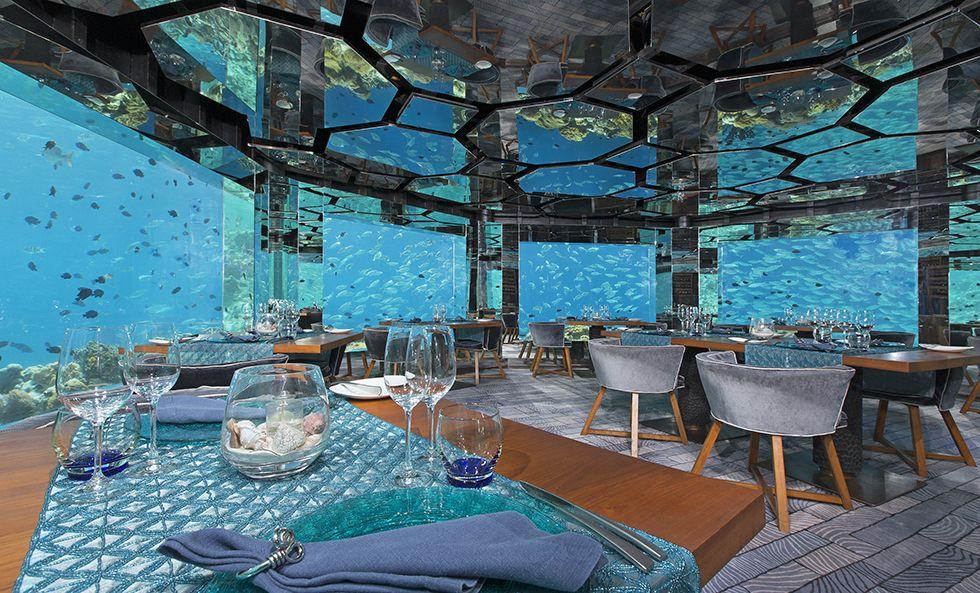 Sea Restaurant ANANTARA KIHAVAH VILLAS 5*+ │ MALEDIVEN