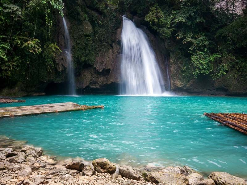 Explore The Most Beautiful Places To Visit And Things To Do In Cebu Kawasan Falls Waterfall Tourist Spots
