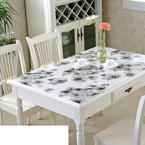 Pvc Table Mat Table Cloth Waterproof Burn Proof Oil Proof
