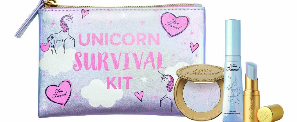 Praise the Lord! Too Faced Is Launching a Unicorn Survival Kit For Holiday 2017! https://www.popsugar.com/beauty/Too-Faced-Holiday-2017-Collection-43935938