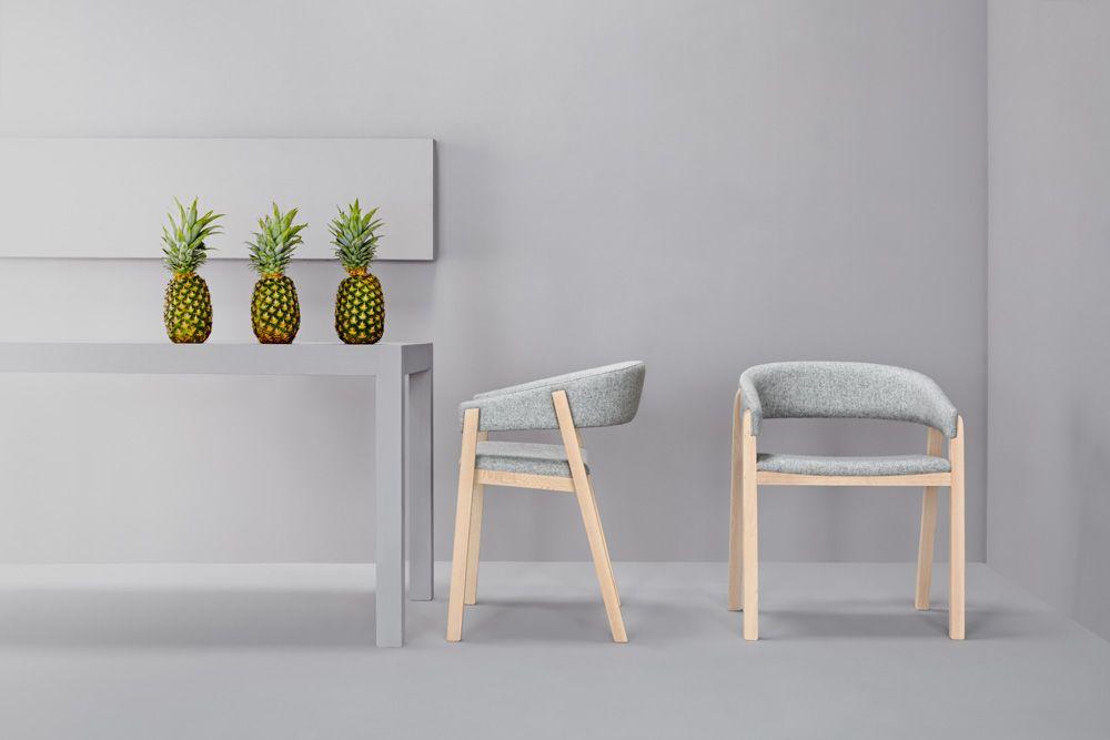 minimalistic furniture. Minimalist Furniture Duo Enhancing Modern Spaces: Oslo Chair Minimalistic P
