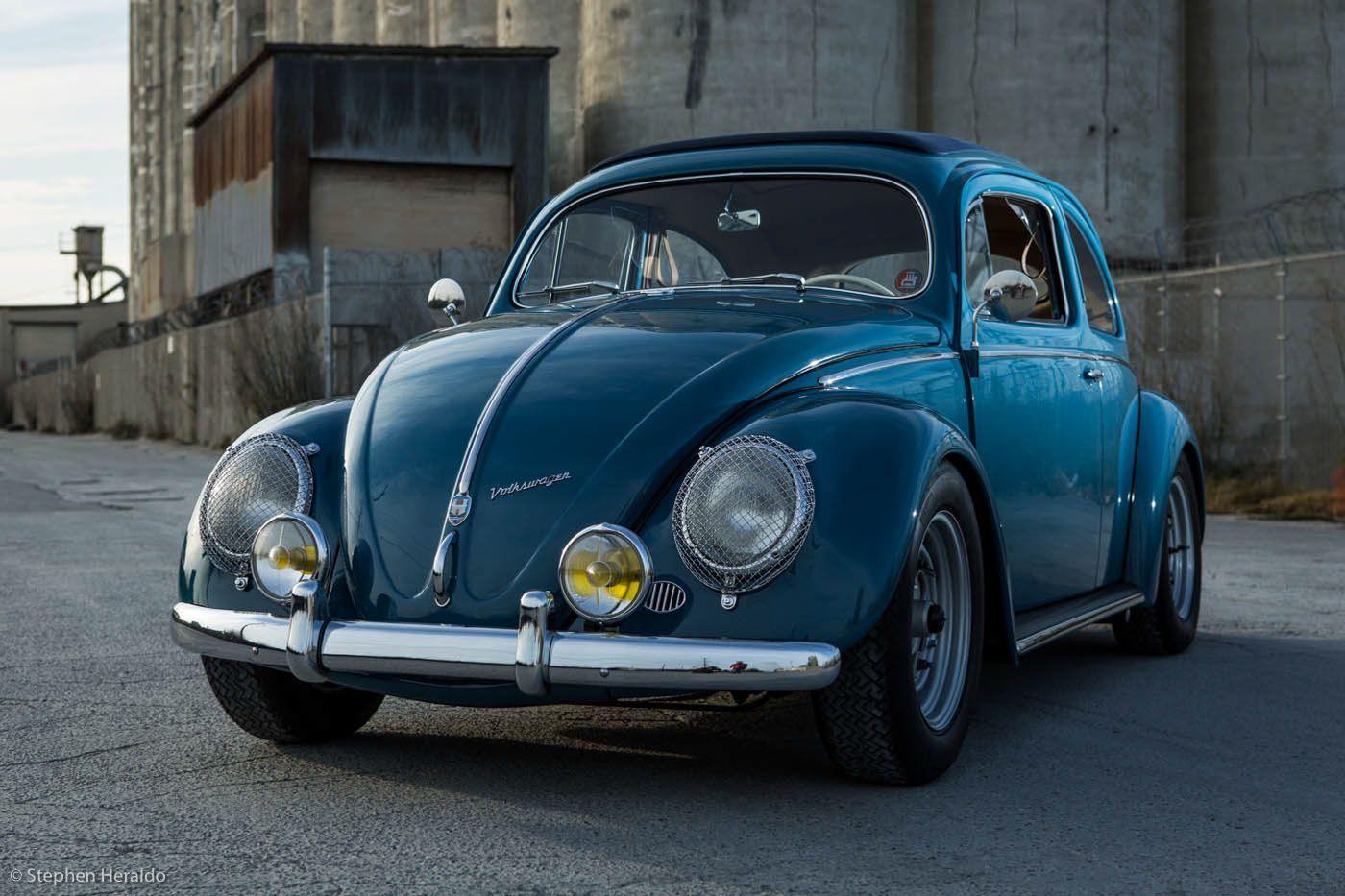This '57 VW Beetle Has A Few Porsche Party Pieces