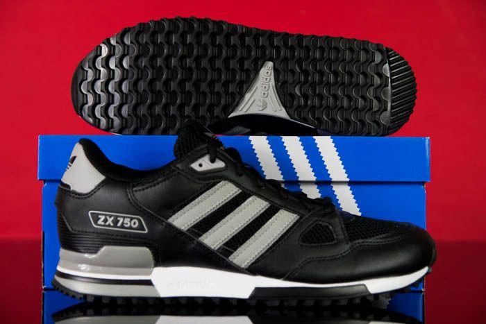 Buty Adidas Zx 750 S76191 R 41 47 Czarne Flux 24h 6540088630 Oficjalne Archiwum Allegro Adidas Zx Adidas Adidas Sneakers