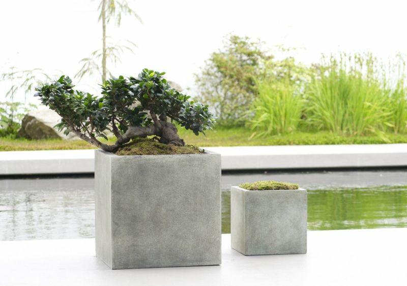 Beton Pflanzkübel Selber Machen Gartengestaltung Pflanzkübel