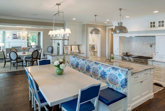 Interior Design Ideas For Your Home Home Bunch An Interior Design Luxury Banquette Seating In Kitchen Kitchen Island And Table Combo Kitchen Island Table
