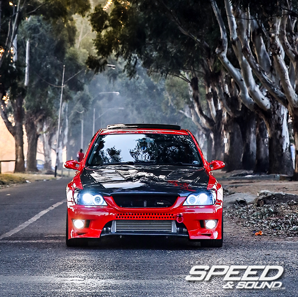 Issue 159 Cover car. Foreign Invasion, 1000hp Mozambican Lexus IS300 powered by a 2JZ-GTE motor. #lexusis300