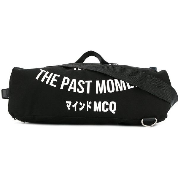 McQ Alexander McQueen Gym bag ( 414) via Polyvore featuring men s fashion d62471abd4d17