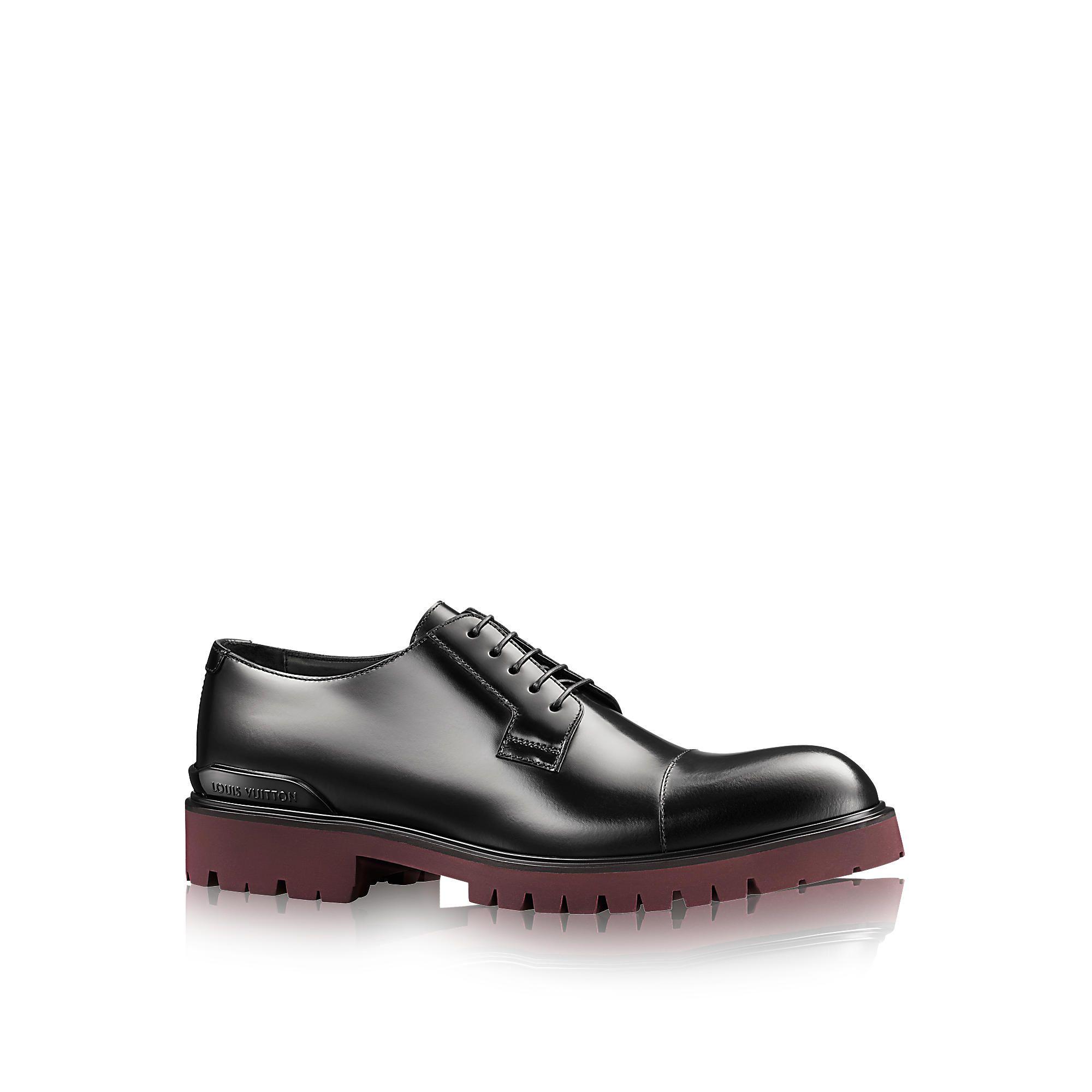 Black derby shoes with elongated toePrada Bas Frais D'expédition Prix Pas Cher Faire Acheter Pas Cher En Vente Visite Nouvelle Réduction Ebay Pas Cher En Vente Achats En Ligne 9v8bt9