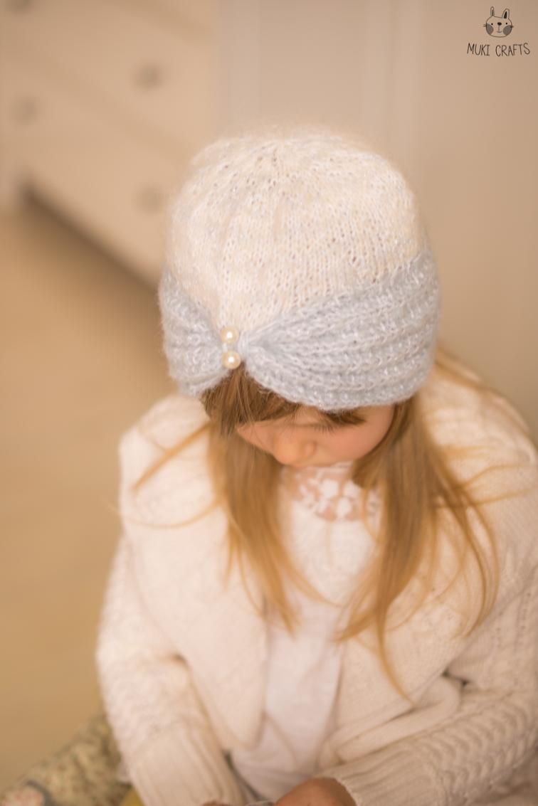 Free Knitting Pattern: Turban Hat Margot | Hat knitting ...