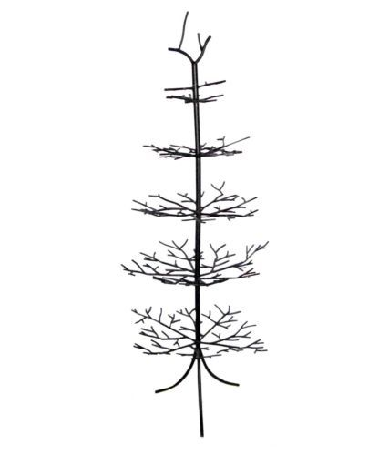 Wrought Iron Christmas Ornament Display Tree Branches Brown Decorate 50 Tall Ornament Tree Display Ornament Display Christmas Ornaments