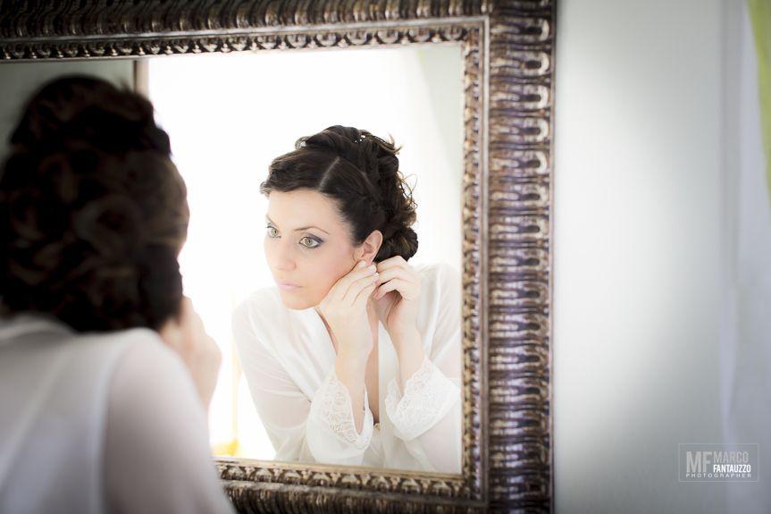 Wedding in Arezzo ... quando guardarsi allo specchio diventa un arte! #marcofantauzzophotographer