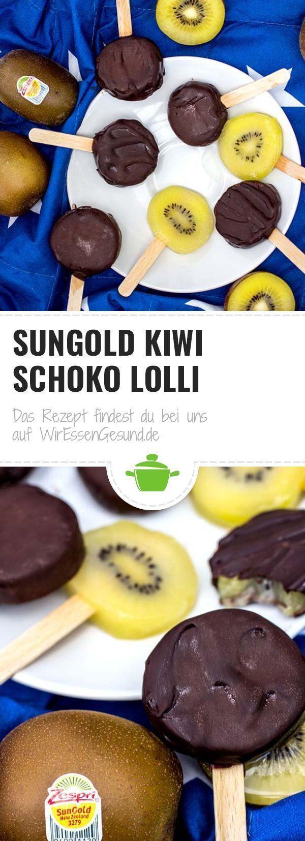 SunGold Kiwi Schoko Lolli  #Kiwi #Lolli #Schoko #SunGold