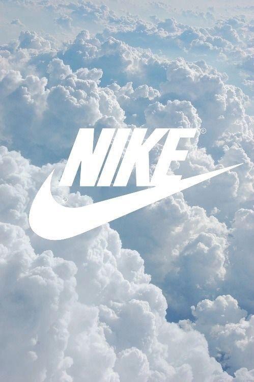 Imagen de nike, clouds, and wallpaper