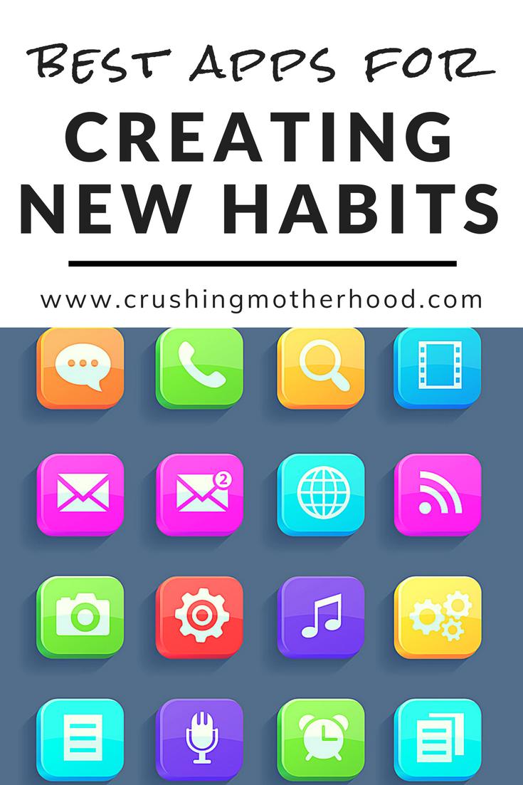 8 Habit Tracker Apps to Help you Become More Consistent | 8 Habit Tracker Apps | Habit Tracker App | Best Habit Tracker App | #bestapps #crushingmotherhood via @crushingmotherhood