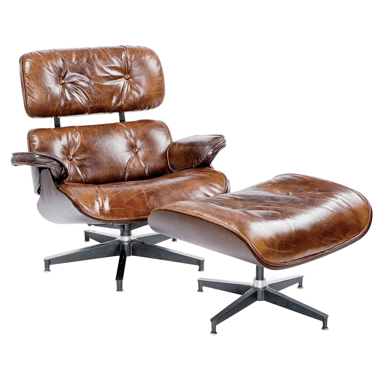 regina andrew modern barca lounge chair ottoman zinc door