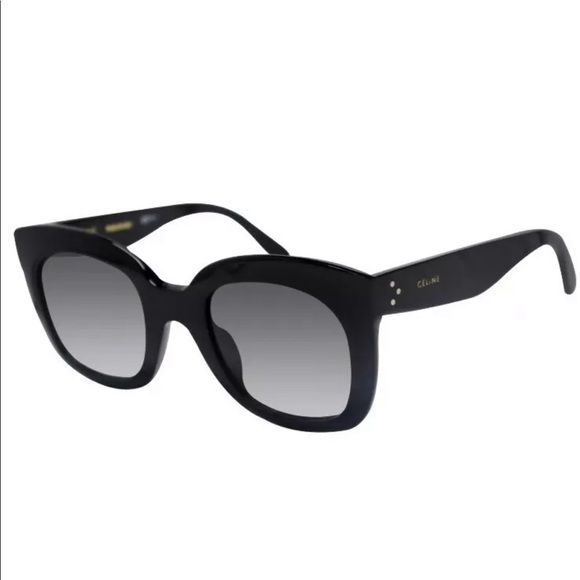 a3be94ac1d76 Celine CL 41385 F S 807 N6 Black Grey Sunglasses Celine Women s CL ...