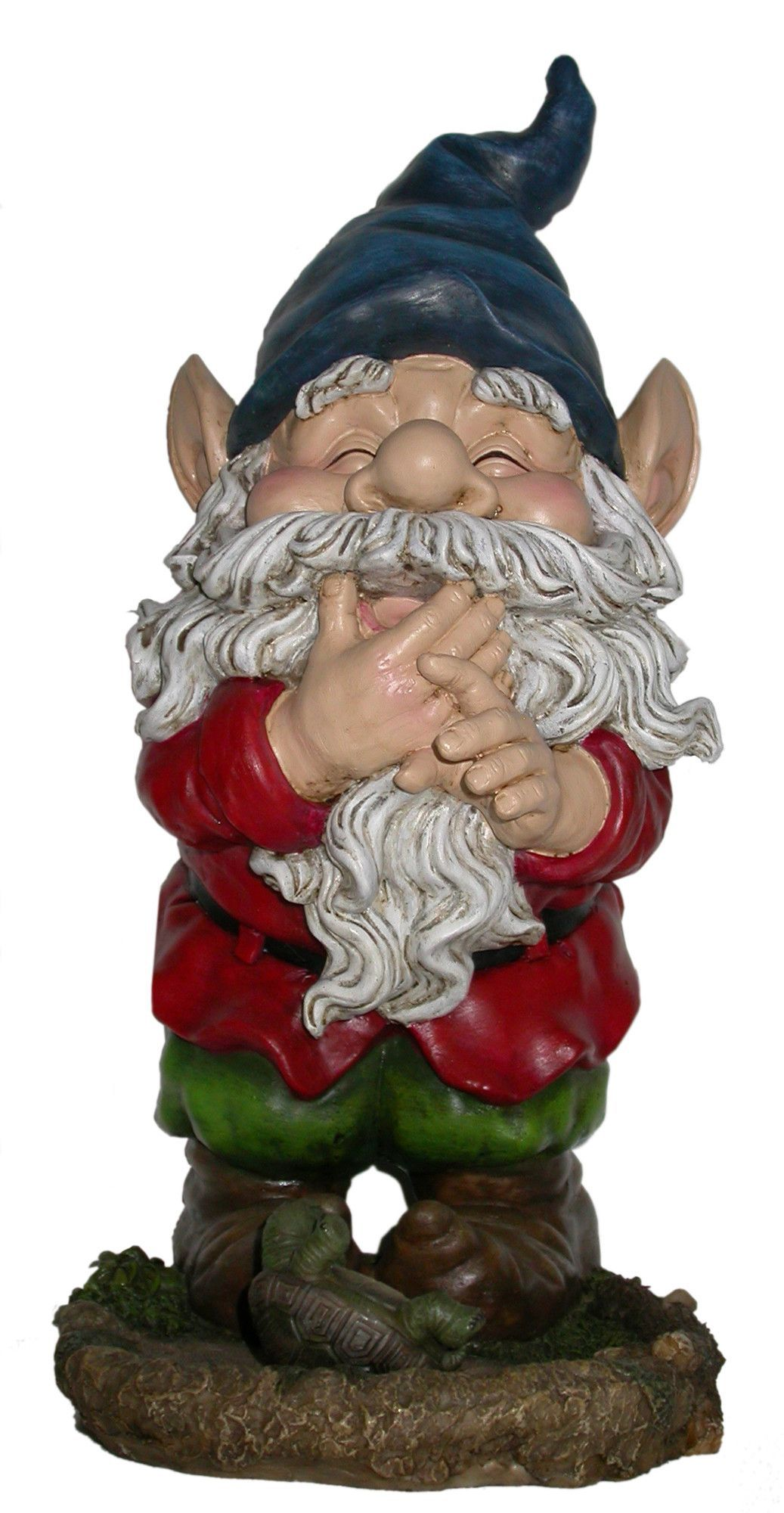 Woodland Imports Smiling Gnome Statue Garden gnomes
