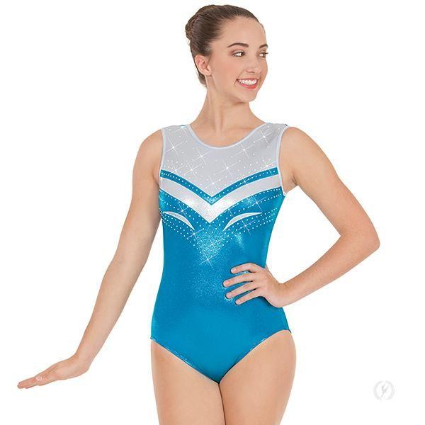 6ee01733d 3218a - Eurotard Womens Ocean Rhythms Gymnastics Leotard ...