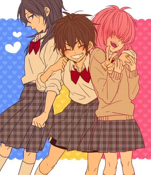 Diamond No Ace Genderbend: Sawamura Eijun,Kominato Haruichi And Furuya ( Female