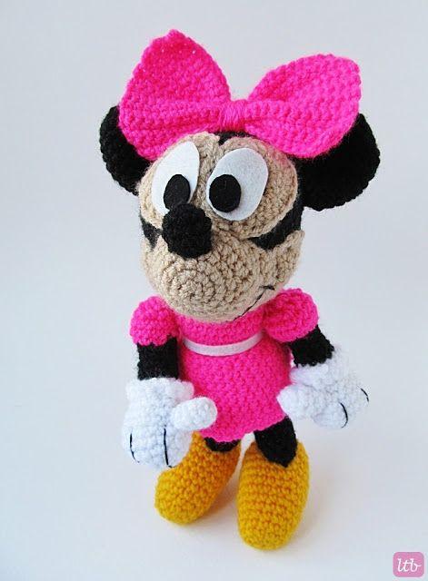Amigurumi Minnie Mouse} | Crochet ideas | Pinterest