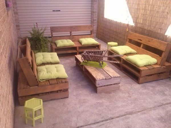 cheap furniture ideas. Pallet Ideas Patio Furniture DIY Sofa Set Coffee Table Cheap D