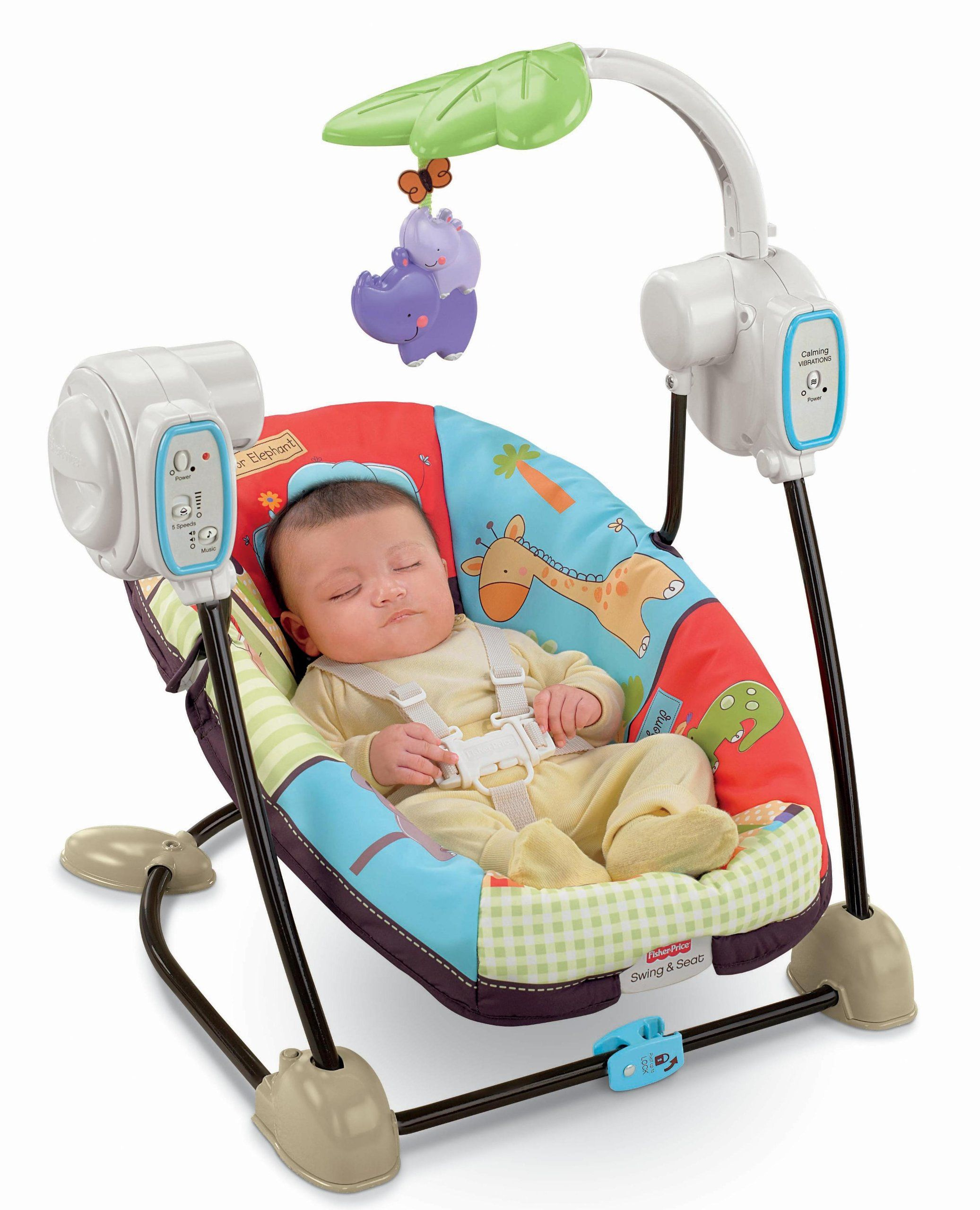 FisherPrice Space Saver Swing and Seat, Luv