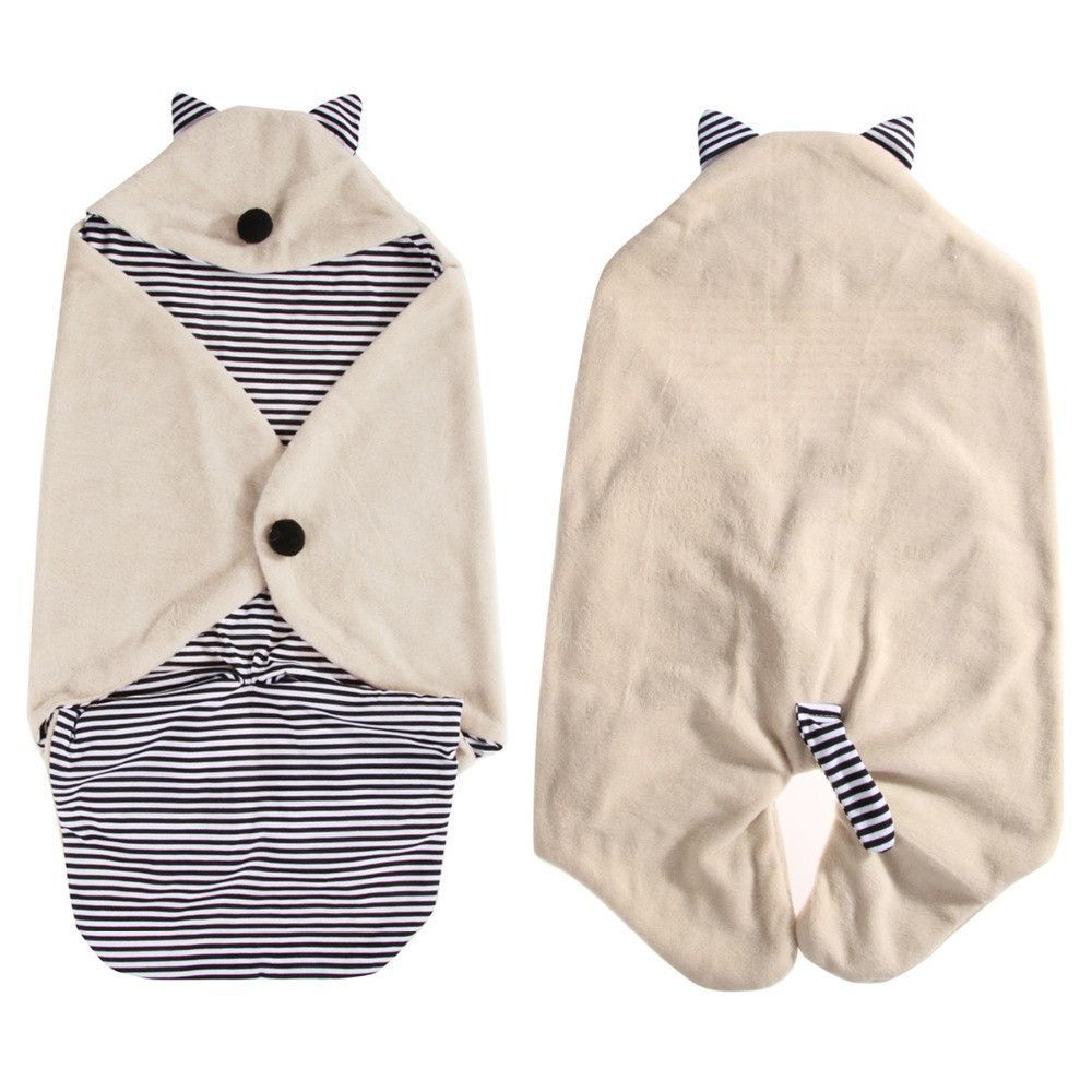 Baby Blanket Newborn Swaddle Baby Quilt Wrap Sleeping Bag