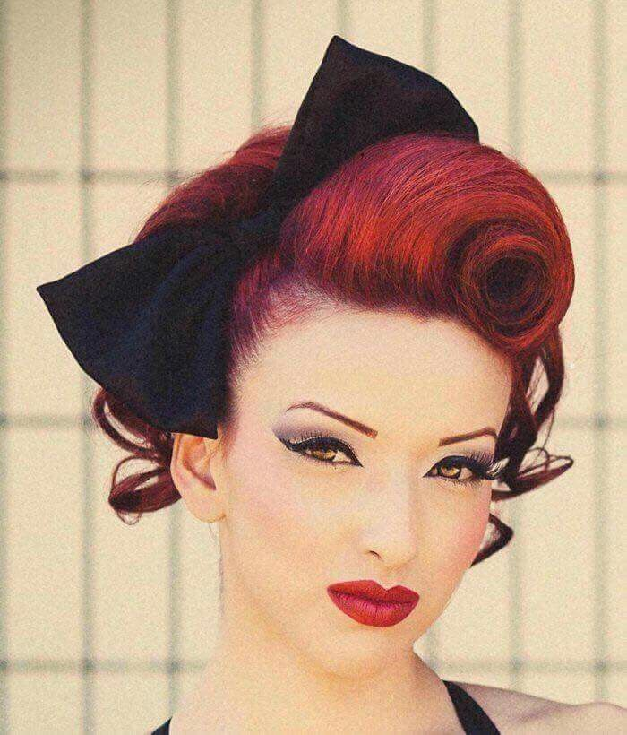 Pin By Nanciis On Rockabilly Pinup Hair Makeup Vintage Hairstyles Tutorial Vintage Hairstyles Rockabilly Hair