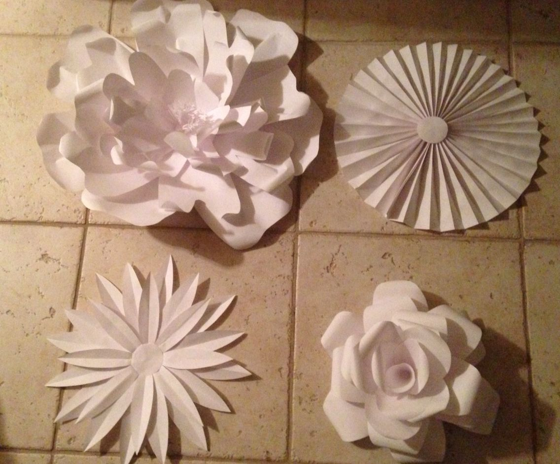 Different Types Of Paper Flowers For A Stage Design My Paper