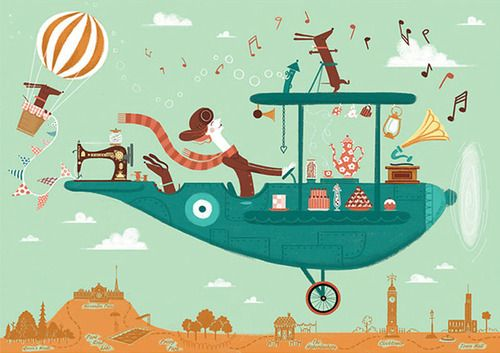 An everything plane | Illustration by 2dScrumptious