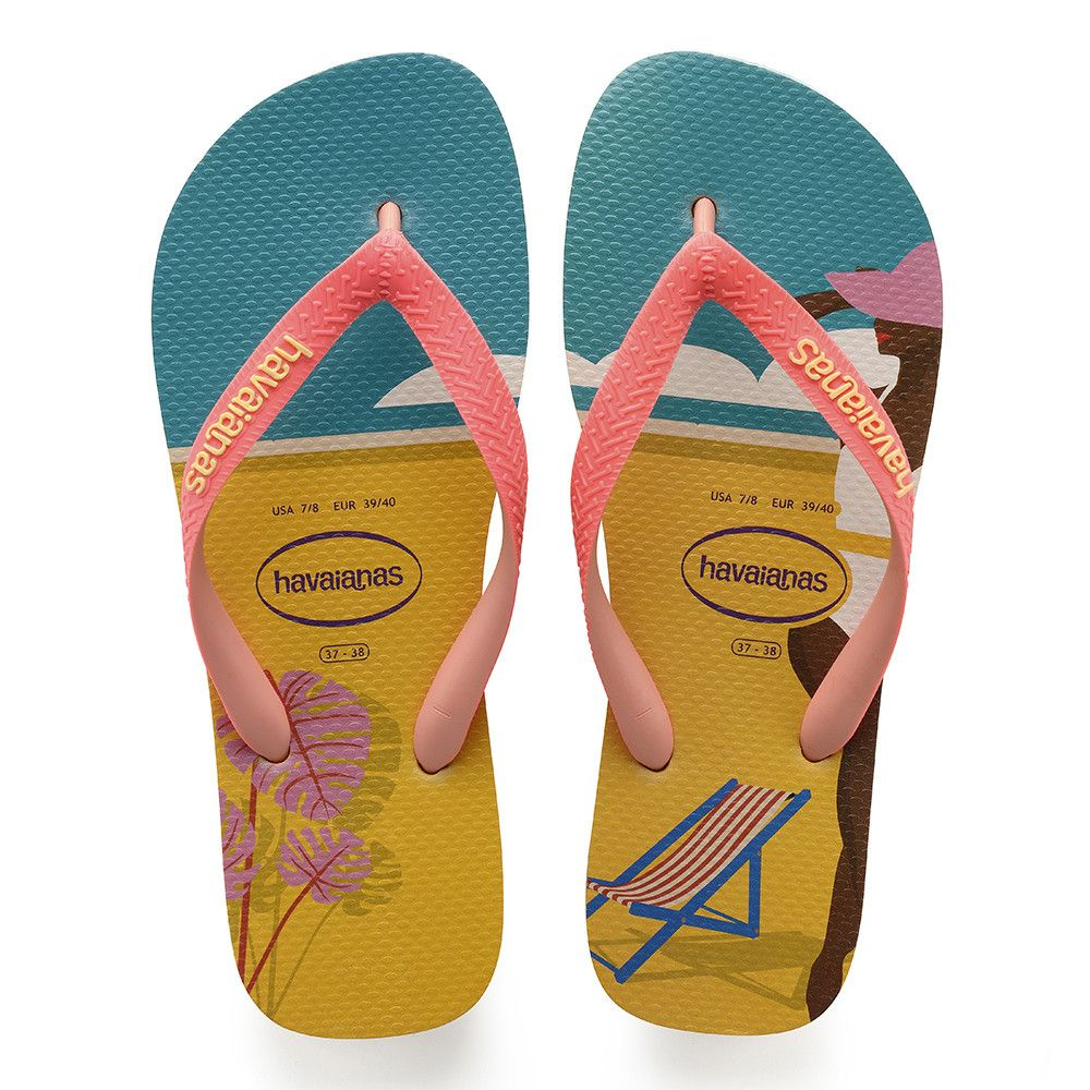 5646006b1363 Havaianas Top Fashion Sandal Rust Price From  £17.88