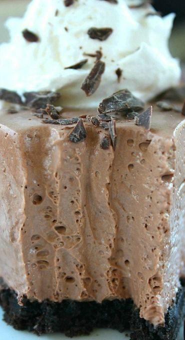 Chocolate Cream Cheese Pie Cream Cheese Pie Cream Cheese Recipes Chocolate Cream Cheese