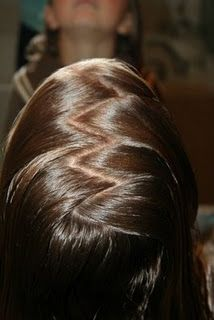 How to do a Zig-Zag Part