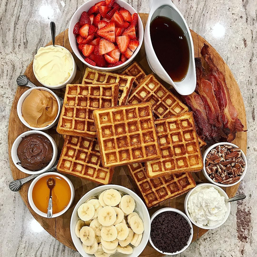 Image result for french toast and pancakes platters