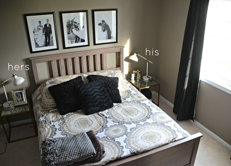 Master Bedroom Make Over After Casa Castruzzo Hemnes Bed Frame Ikea ...