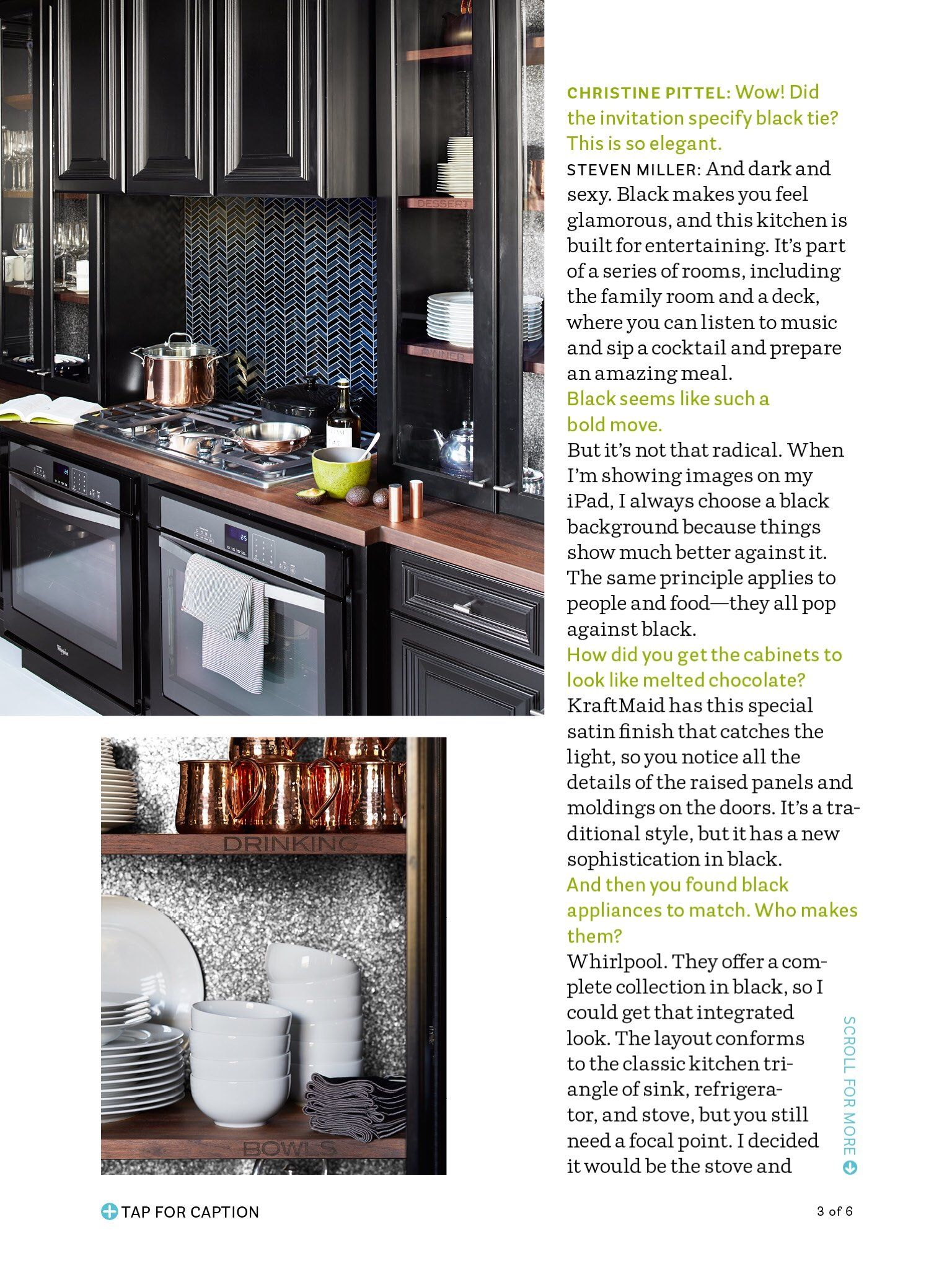 I saw this in the October 2014 issue of @HouseBeautiful.   http://bit.ly/1ySrLfl