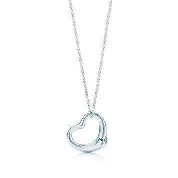 89d4c4144 Tiffany & Co. Elsa Peretti Open Heart Pendant With 18