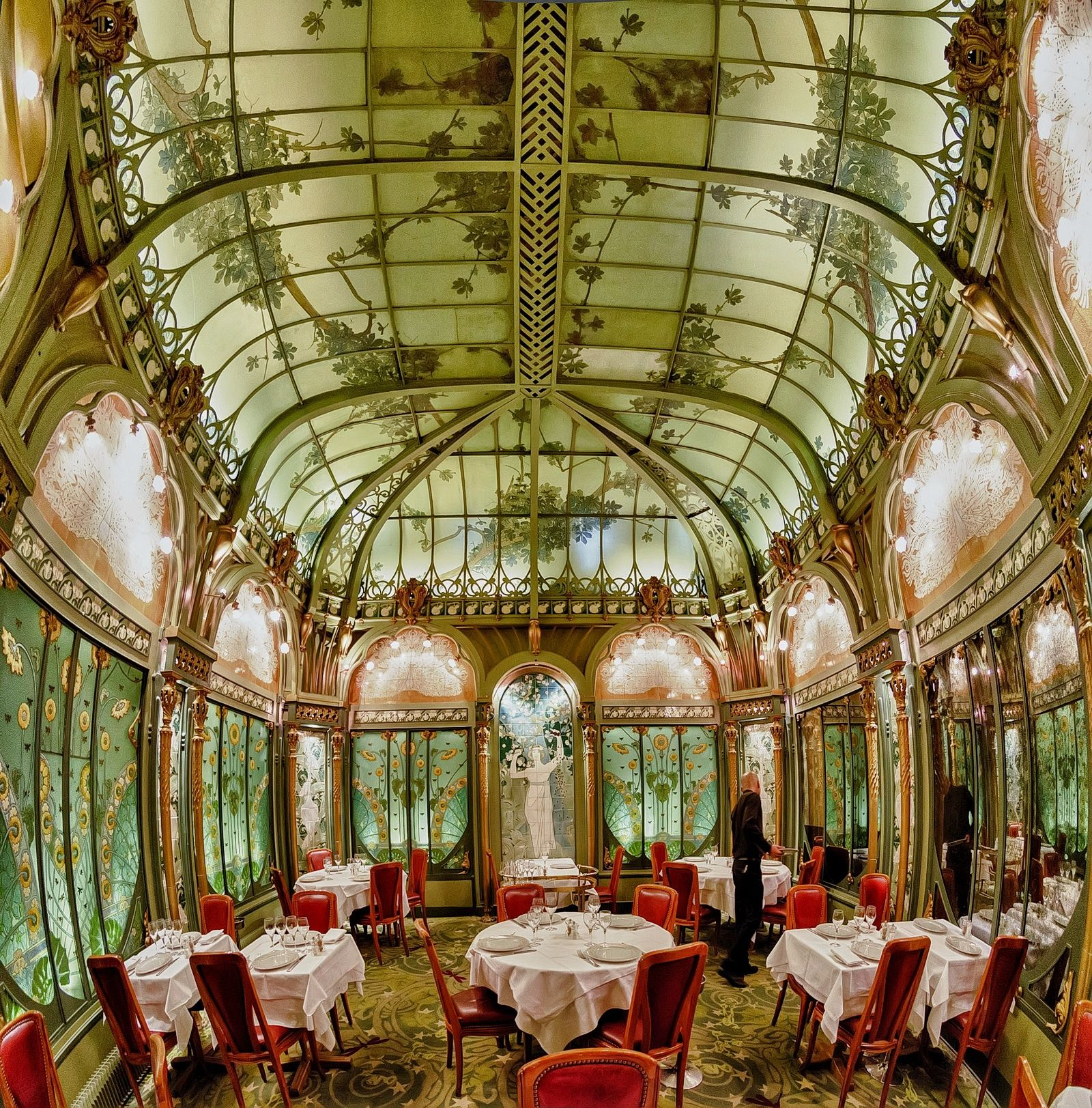 Restaurant La Fermette Marbeuf, Paris by Csaba Attila Kontár on 500px