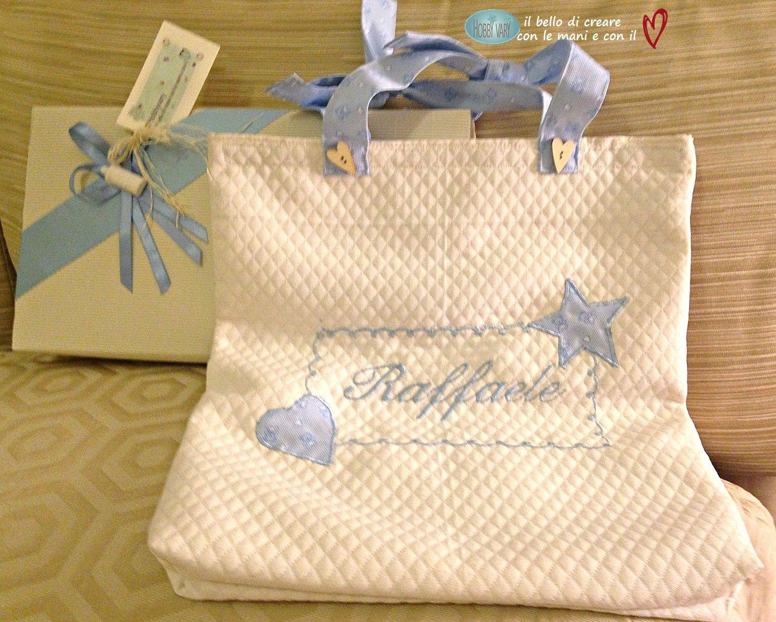 Cucito Bambini ~ Una borsa per la biancheria dei neonati cucito creativo neonato
