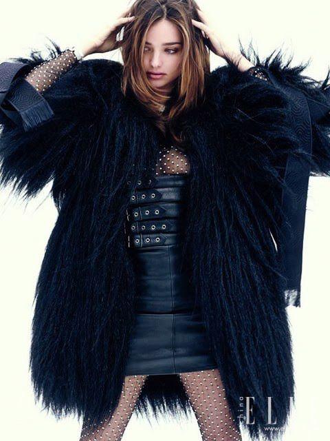 Miranda Kerr for ELLE China January 2014