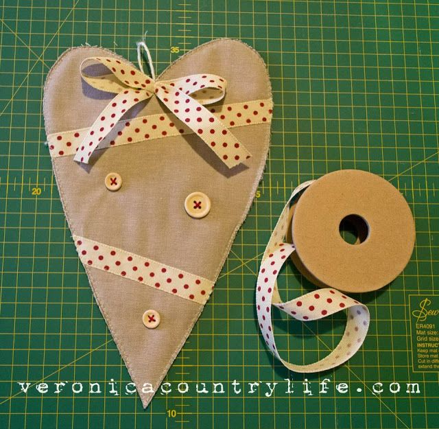 TUTORIAL FABRIC HEART
