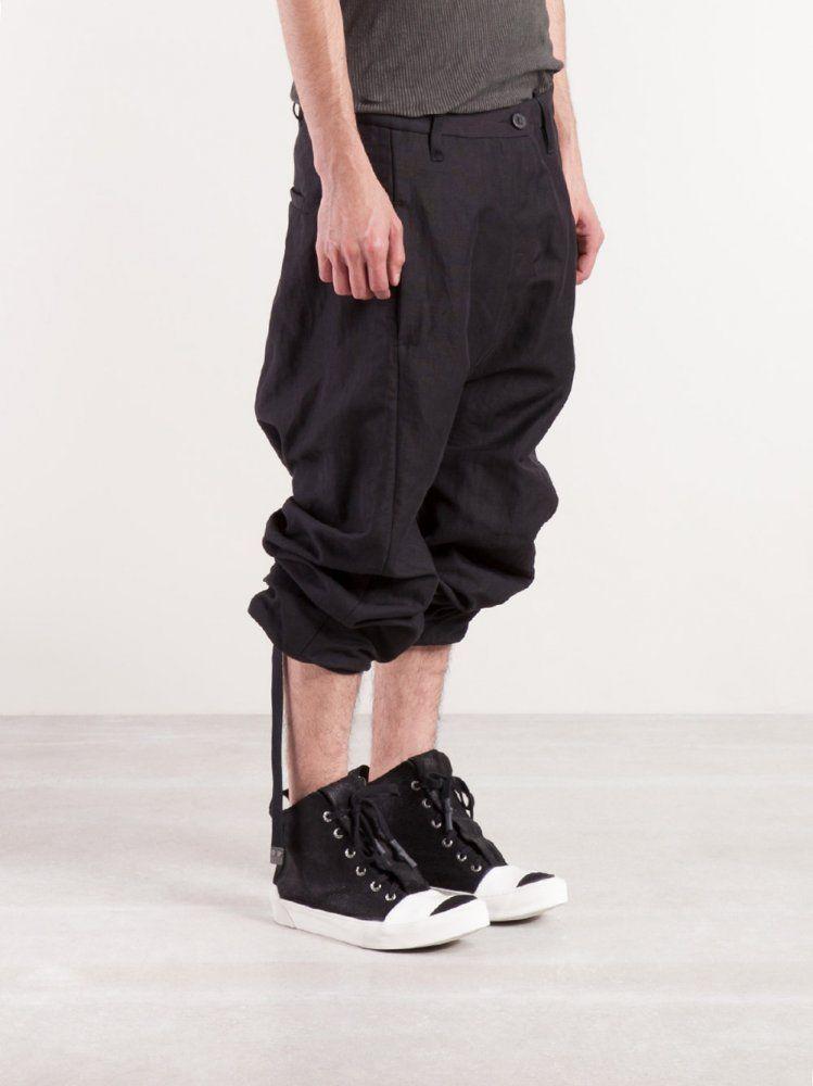 BORIS BIDJAN SABERI - Rolled-up Trouser